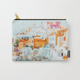 Santorini Vacay #photography #greece #travel Carry-All Pouch