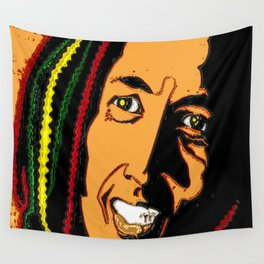RASTA MAN Wall Tapestry