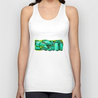 spain Tank Tops featuring SPAIN by clogtwo
