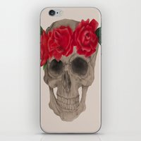 grateful dead iPhone & iPod Skins featuring Grateful by EmDem