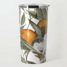 Orange Blossom Travel Mug