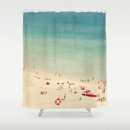 beach XIX Shower Curtain