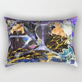 Maskenball Rectangular Pillow