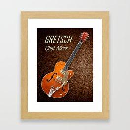 Gretsch  Chet Atkins Framed Art Print