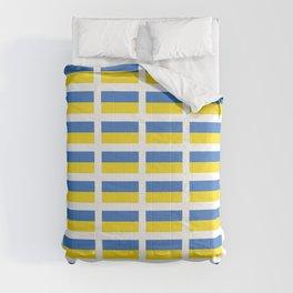 Flag of Ukraine -Ukrainian,Україна, Ucrania,kiev,sevastopol Comforters