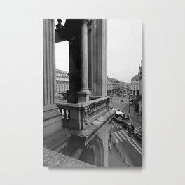 View from the Opera Garnier ~Paris. Metal Print