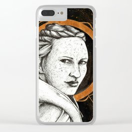 Ladies of Dragon Age: Scout Harding Clear iPhone Case