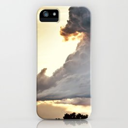 Shadow of Uncertainty iPhone Case