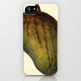 Vintage Illustration of a Mango iPhone Case