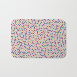 Circles multicolored Bath Mat