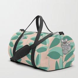 Koalas on Eucalyptus Duffle Bag
