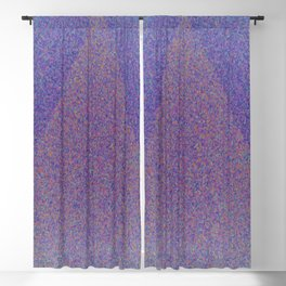 A Blue Point Blackout Curtain