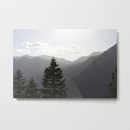 Hills of Tahoe Metal Print