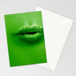 Mint Lips Stationery Cards