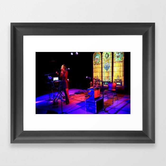 Kawehi Sings 3 Framed Art Print