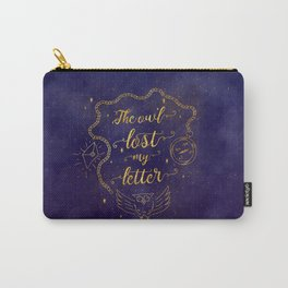 The owl lost my letter Carry-All Pouch