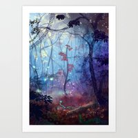 disco Art Prints featuring Disco by Azot