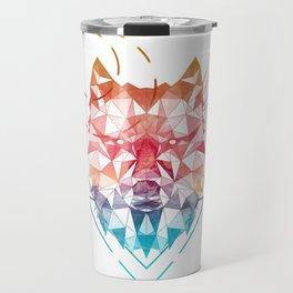 Spirit of the Wolf Travel Mug