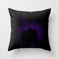 The Addams Family Throw Pillow