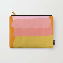 Abstract Sunset Colors Carry-All Pouch
