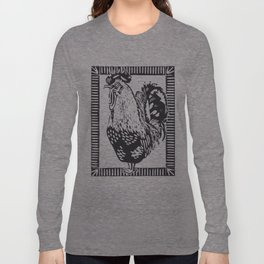 Cockerel Long Sleeve T-shirt