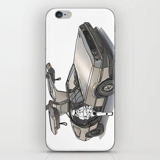 Stormtroooper in a DeLorean - star wars iPhone & iPod Skin
