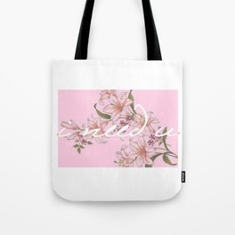 I need U (pink ver.) Tote Bag