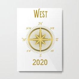 West 2020  Metal Print