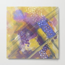 Abstract Arial design Metal Print