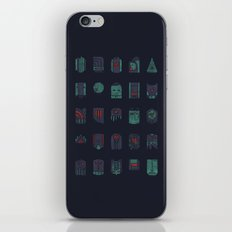 Masks iPhone Skin