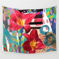 lily Wall Tapestries featuring Lily by Crystal Manning