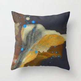 joelarmstrong_rust&gold_flower Throw Pillow