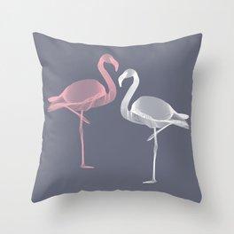 Flamingo 2 Throw Pillow
