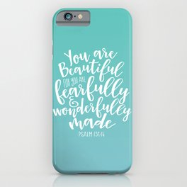 Wonderfully Made iPhone Case