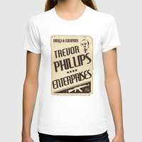 gta v T-shirts featuring GTA Trevor Phillips Enterprises by Spyck