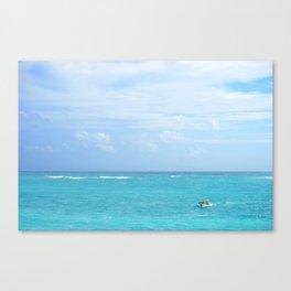 Caribbean Sea Canvas Print