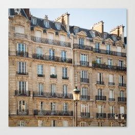 Classique - Paris Apartments Canvas Print