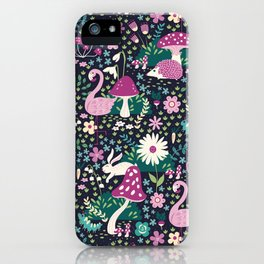 Wandering in Wonderland iPhone Case
