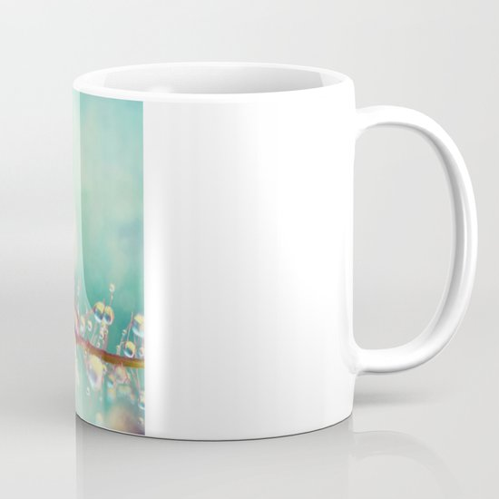 Rainbow Smoke Drops Mug