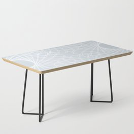 mathematical rotating roses - ice gray Coffee Table
