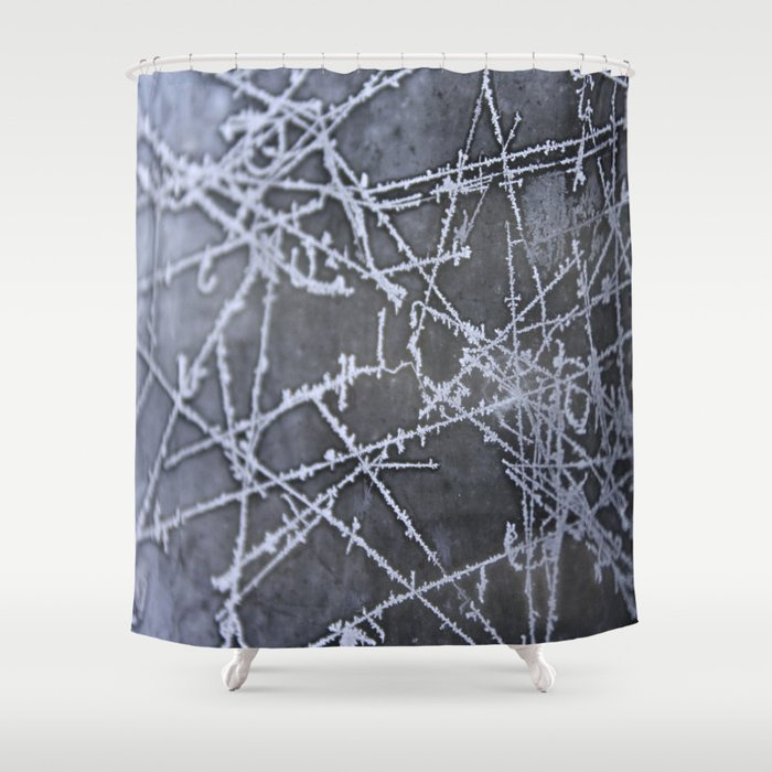Texture #8 Ice Shower Curtain