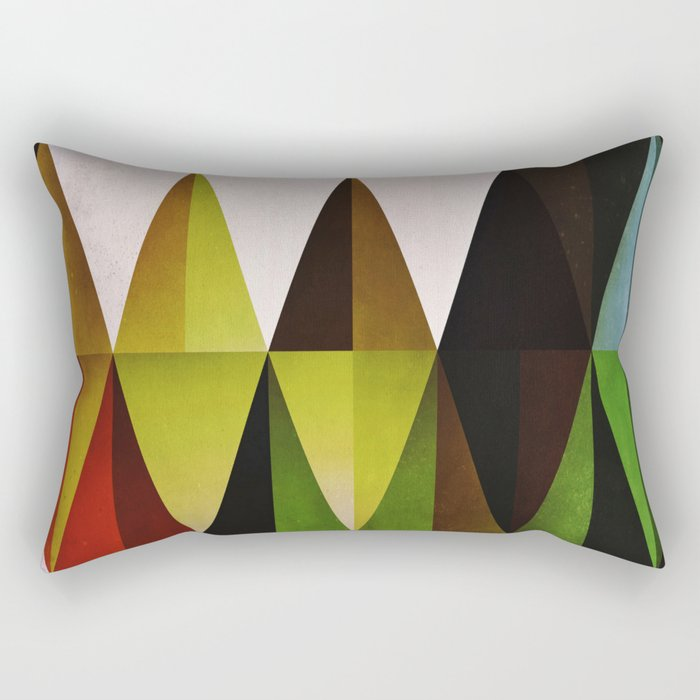 green yyyr Rectangular Pillow