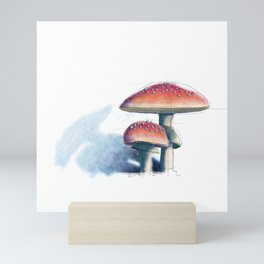 Fly Agaric Mini Art Print