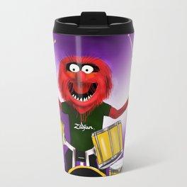 Animal Drummer Travel Mug