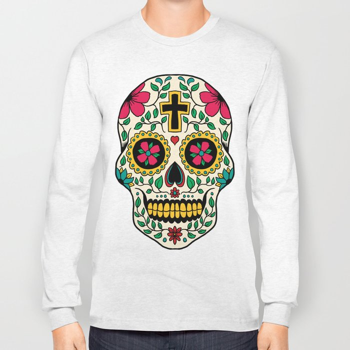 Skull Tattoo Long Sleeve T-shirt