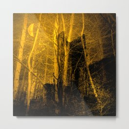 Ghost Castle Metal Print