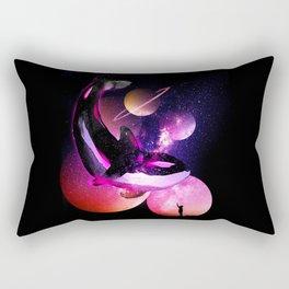 The Ocean Galaxy Rectangular Pillow
