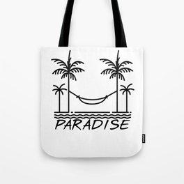 Paradise on Island Tote Bag