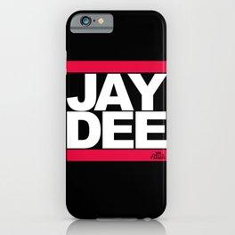 JAY DEE aka JDILLA (RUNDMC tribute) iPhone Case