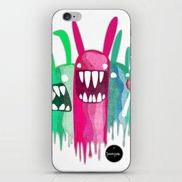 Rabbitty Rabbits iPhone Skin